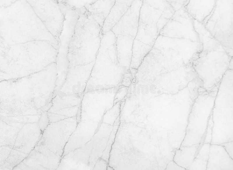 与自然黑色线静脉样式抽象纹理背景的白色或灰色大理石背景 库存照片