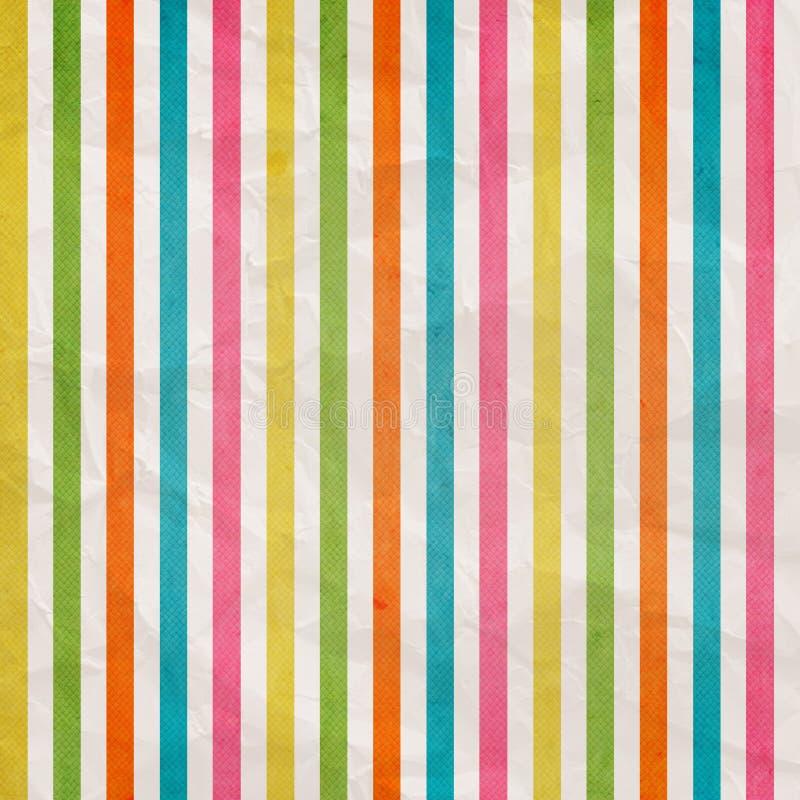 与色的桃红色,深蓝, yello的背景 向量例证