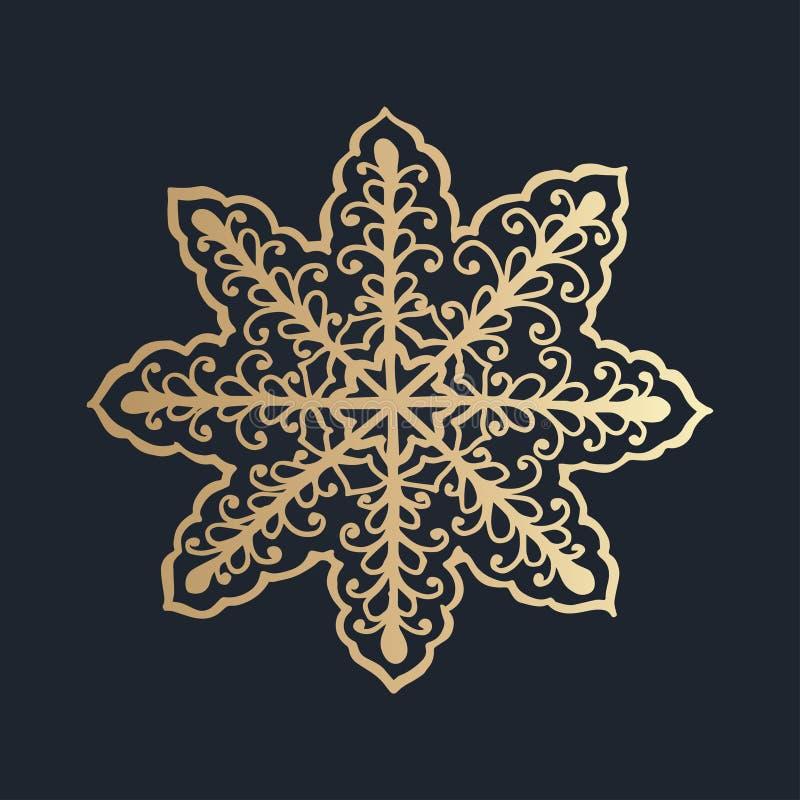 与花卉鞋带装饰品的样式圣诞节汇集的 皇族释放例证