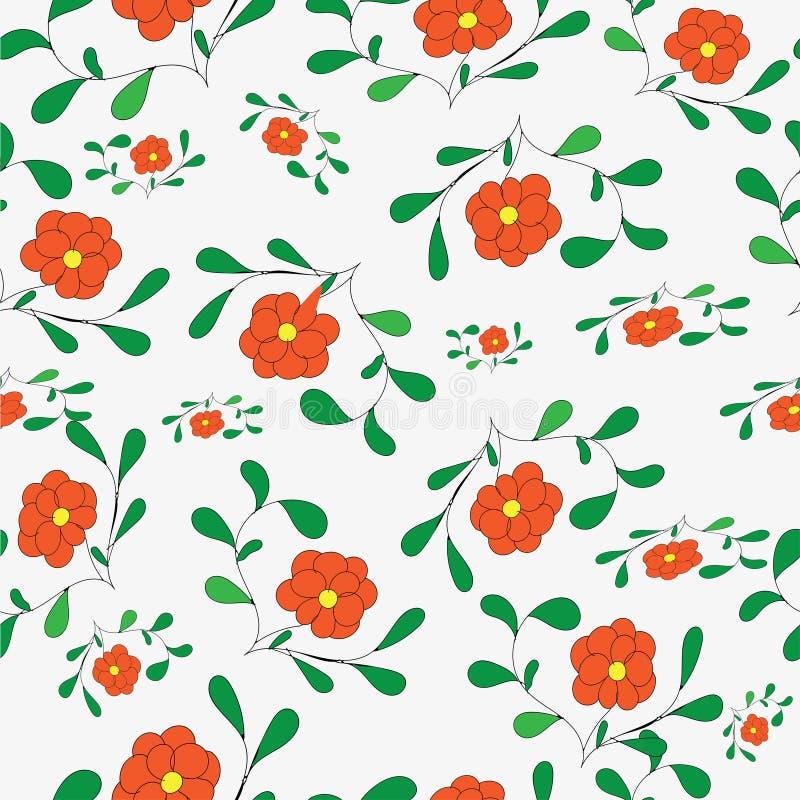 与花的Colful背景 图库摄影