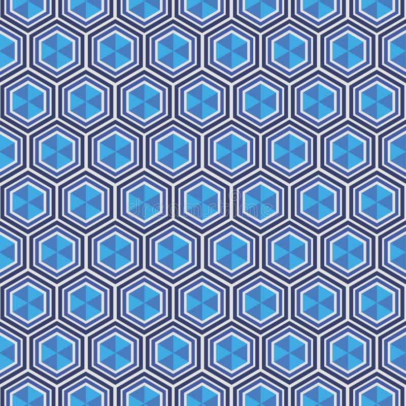 与菱形的几何样式 皇族释放例证