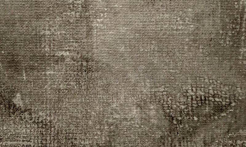 与葡萄酒难看的东西的轻的乌贼属背景或与软的米黄脏的污点的被擦的油漆纹理 免版税图库摄影