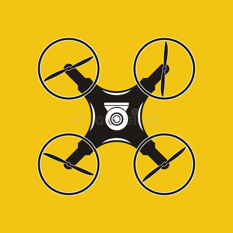 与行动照相机象的寄生虫 空中保加利亚山摄影strandja Quadrocopter 皇族释放例证