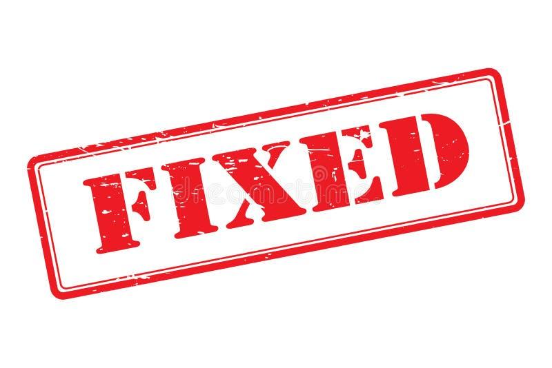 与被修理的文本的不加考虑表赞同的人 库存例证