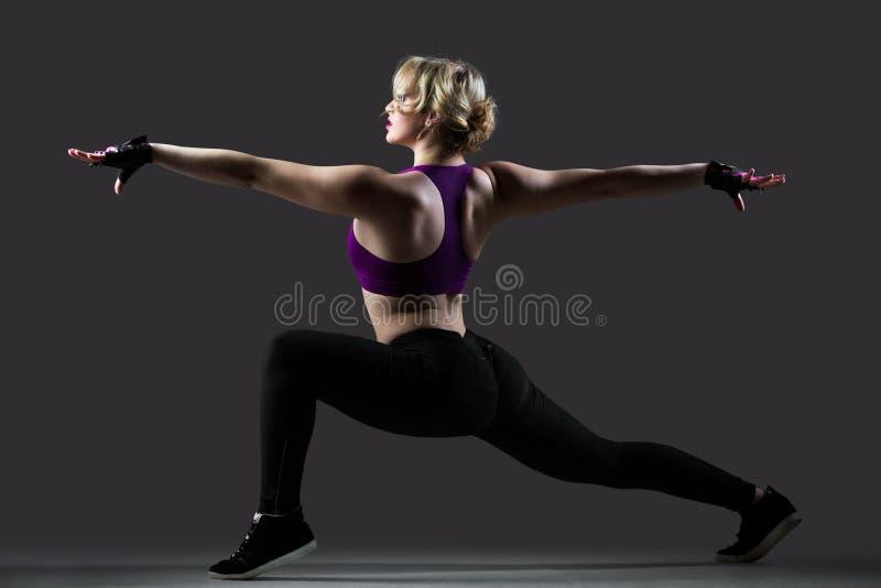 与被舒展的胳膊的刺锻炼 库存照片