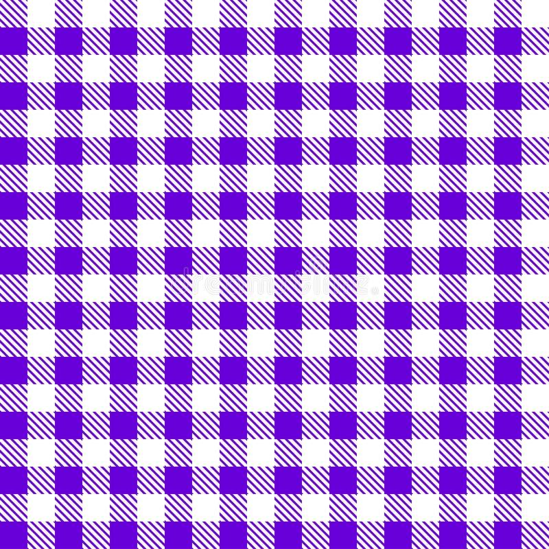 与被遮蔽的正方形时髦的例证的桌布 向量例证