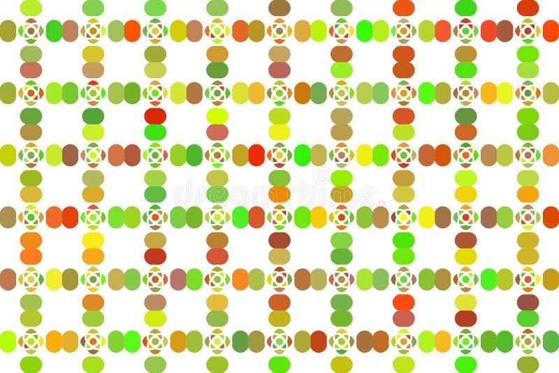 与被隔绝的抽象幻想的五颜六色的纹理 皇族释放例证
