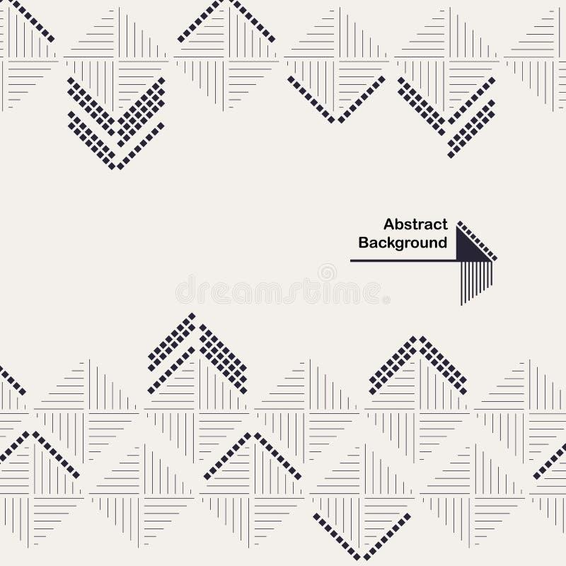与装饰正方形的抽象几何构成图片