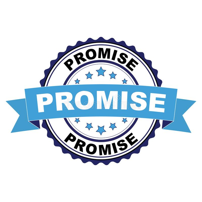 与诺言概念的不加考虑表赞同的人 库存例证