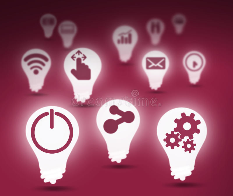Download 与象的背景图象 库存例证. 插画 包括有 图标, 创造性, 设计, 印花税, 符号, 技术, 分级显示, 简单 - 59105452