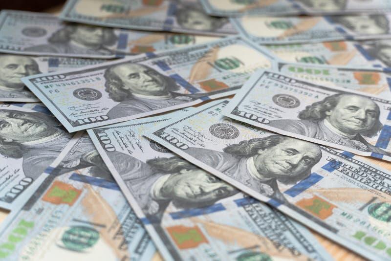 与货币的背景 免版税库存图片