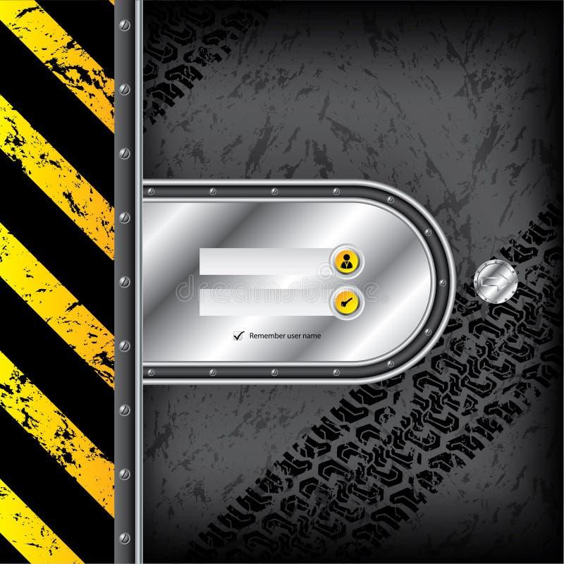 Download 与轮胎轨道的工业注册接口 向量例证. 插画 包括有 私有, 行业, 锁定, 图标, 互联网, 金属, 牌照 - 30338487