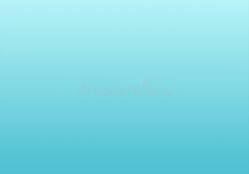 与辐形梯度作用的简单的天蓝色&白色抽象背景 向量例证