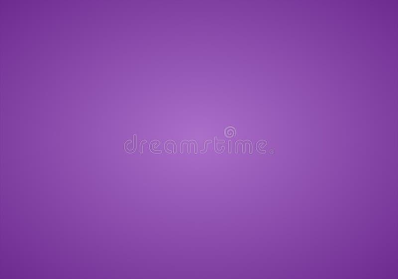 与辐形梯度作用的简单的紫色&白色抽象背景 库存例证