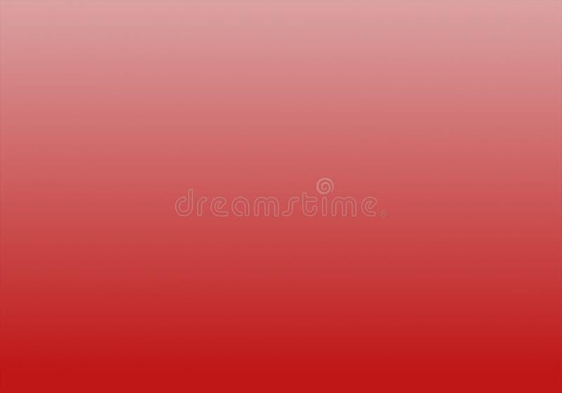 与辐形梯度作用的简单的红色&白色抽象背景 向量例证