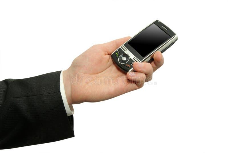 与通信装置的现有量 免版税图库摄影