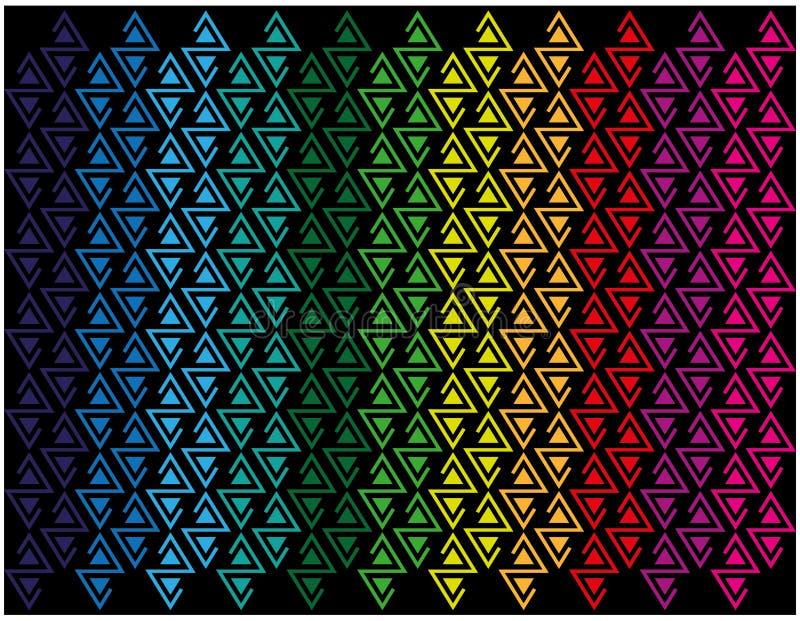 与重复色的图的抽象背景 皇族释放例证