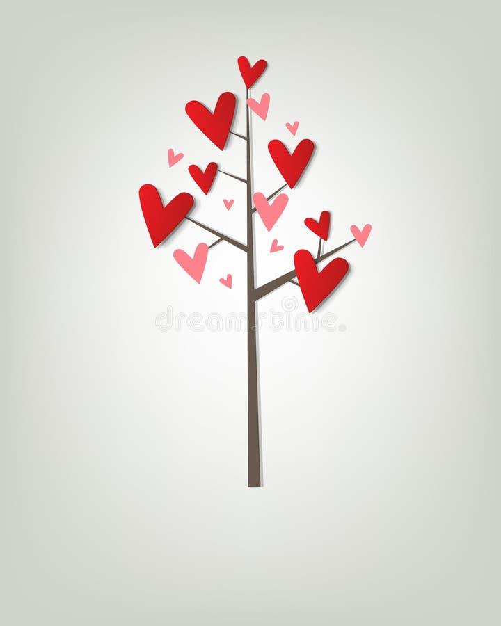 与重点的结构树 向量例证