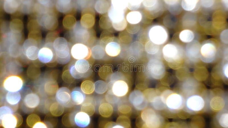 与金黄闪光的抽象背景 免版税库存照片