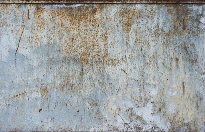 与铁锈纹理的金属 库存图片