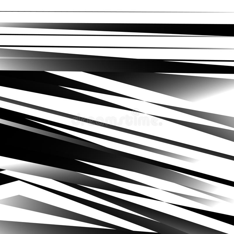 与锋利,有角的形状的抽象几何艺术 任意命令 皇族释放例证