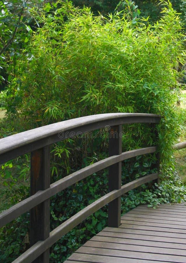 与长凳的公园设置 免版税库存照片