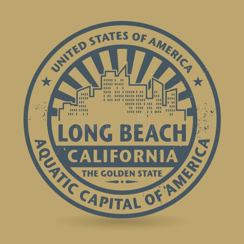 与长滩,加利福尼亚的名字的难看的东西不加考虑表赞同的人 皇族释放例证