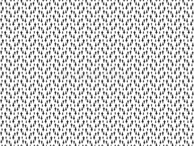 与长矛装饰品的无缝的样式 重复的长矛墙纸 雪佛长矛主题 与一根长矛的数字纸纺织品印刷品的 向量例证