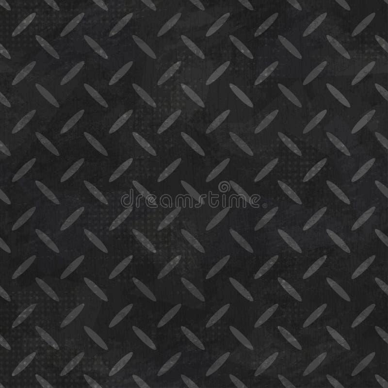 与难看的东西作用的橡胶无缝的样式 向量例证