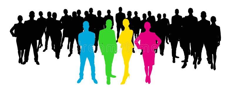 Download 与雇员的团队负责人 库存例证. 插画 包括有 企业家, 批准, 网络, 行业, 概念, 领导, 贸易商, 计划 - 62536219