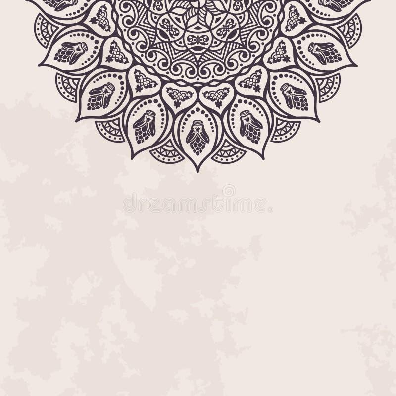 Download 与鞋带装饰品的典雅的背景 向量例证. 插画 包括有 看板卡, 花卉, 书法, 抽象, 邀请, deco, 叶子 - 62528898