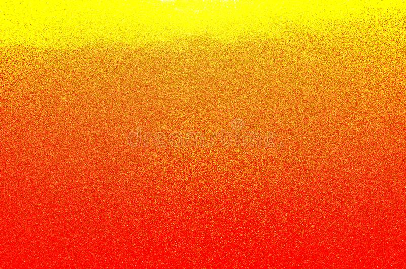 与颜色梯度的抽象黄色红色背景 库存照片