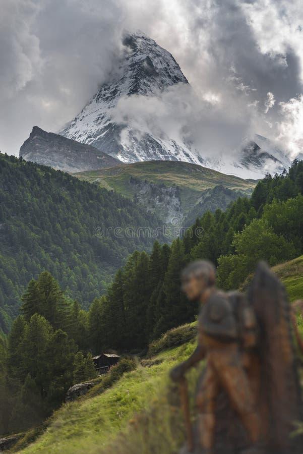 与马塔角峰顶的风景 免版税库存图片