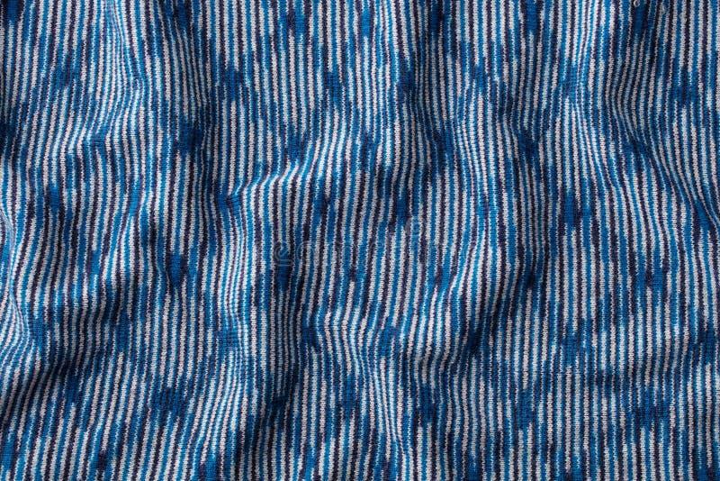 与高分辨率的蓝色被编织的羊毛纹理背景样式 r r 库存照片