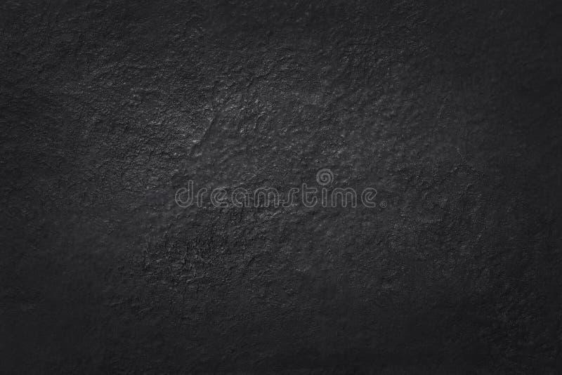 与高分辨率,自然黑石墙背景的深灰黑板岩纹理  免版税库存照片