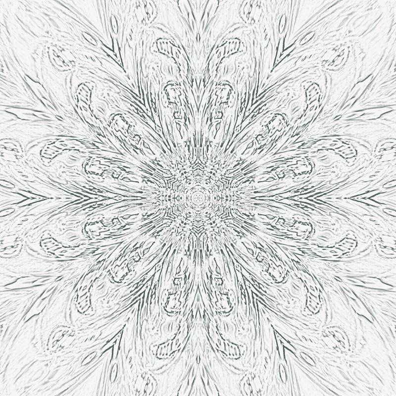 与黑黑白照片的葡萄酒抽象海报在装饰设计的白色背景 抽象背景 纹身花刺样式 库存例证