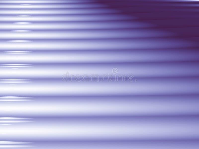 与类似走廊或台阶的规则线的紫色分数维 向量例证