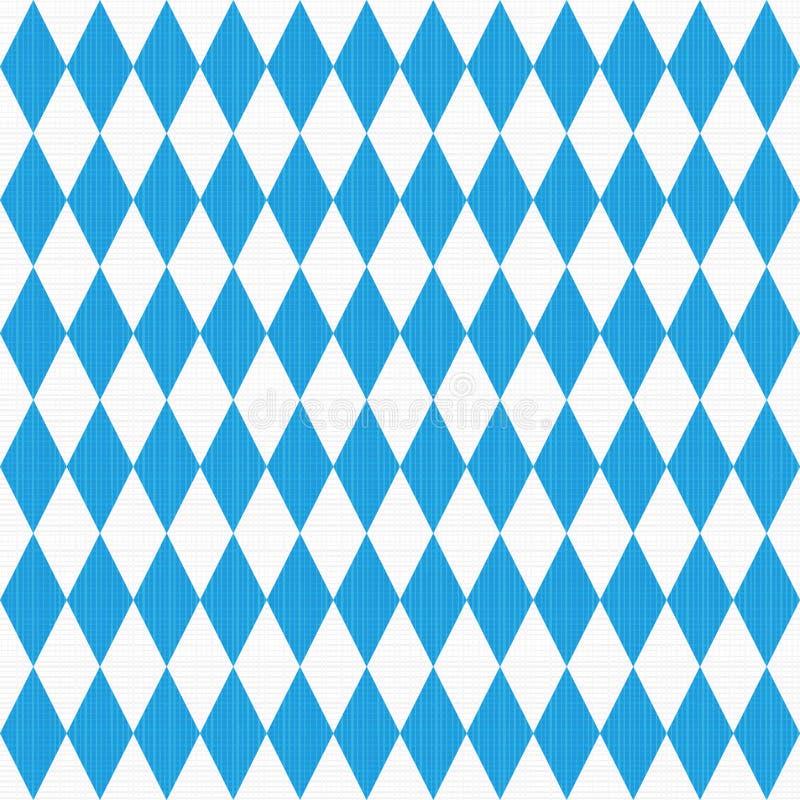 与织品纹理的无缝的Oktoberfest模式 皇族释放例证