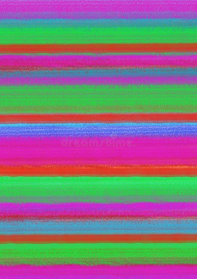 Download 与水平的绘画的技巧的淡色五颜六色的抽象背景在绿色,桃红色和红颜色 A4大小格式 库存例证 - 插画 包括有 背包, 绘画: 72356064
