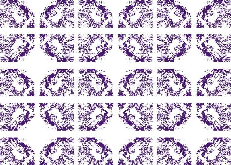 与幻想的典雅的纹理 向量例证