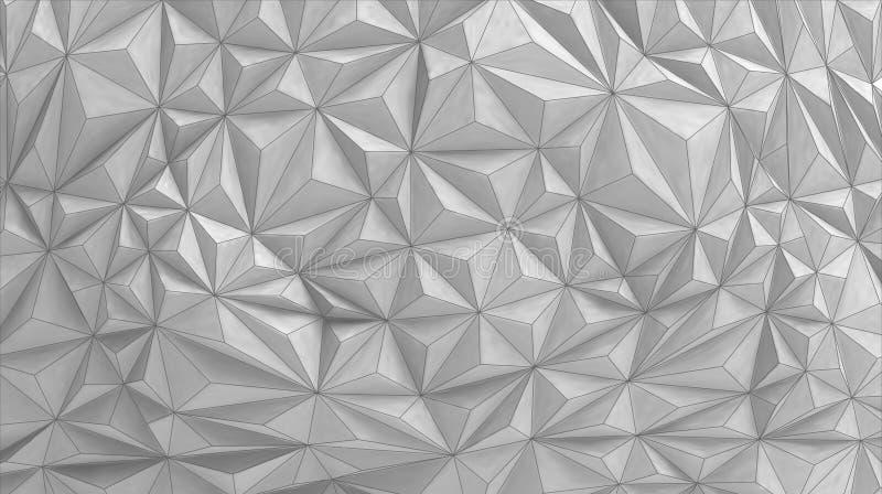 与绘画样式的传染媒介建筑几何背景 皇族释放例证