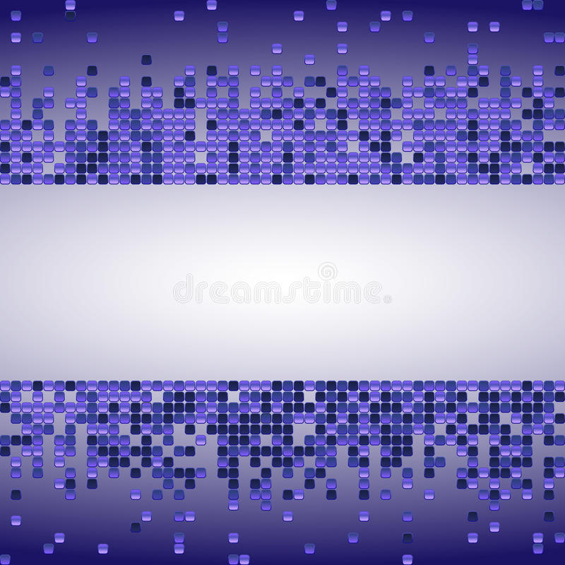 与紫色衣服饰物之小金属片的传染媒介发光的背景 与被分散的微粒的水平的背景 也corel凹道例证向量 为gree完善 皇族释放例证