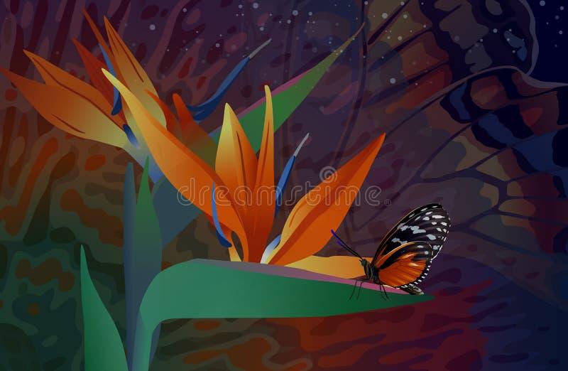 Download 与蝴蝶的野花 向量例证. 插画 包括有 向量, 昆虫, 动物区系, 幻想, 蝴蝶, 工厂, 星形, 本质 - 72368760