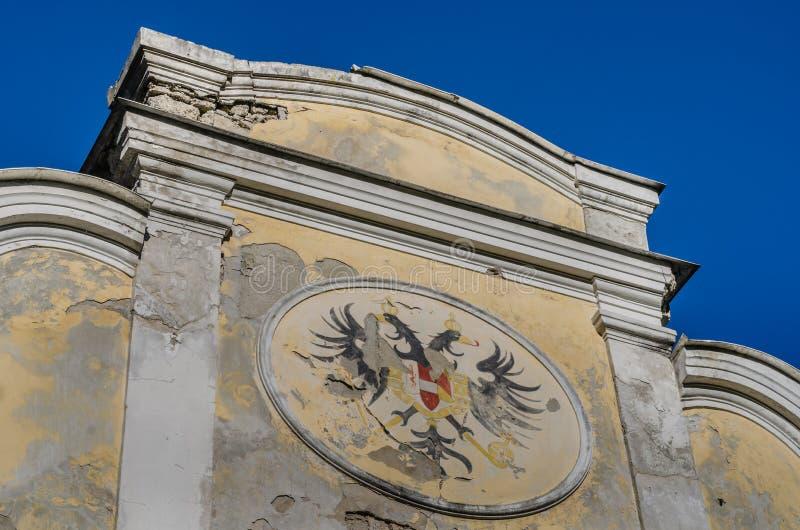 与doubleheaded老鹰的象征 库存照片