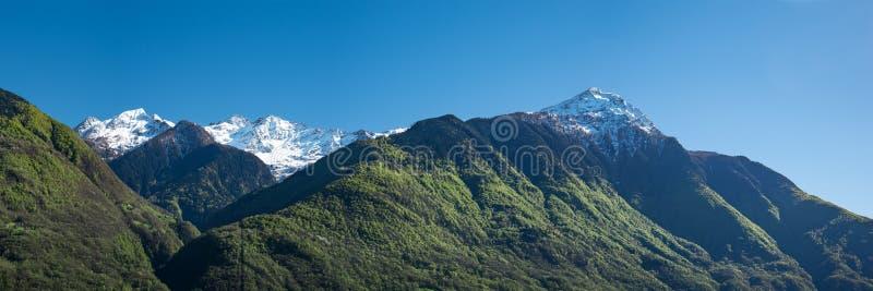 与Monte Legnone的Val lesina 免版税库存图片