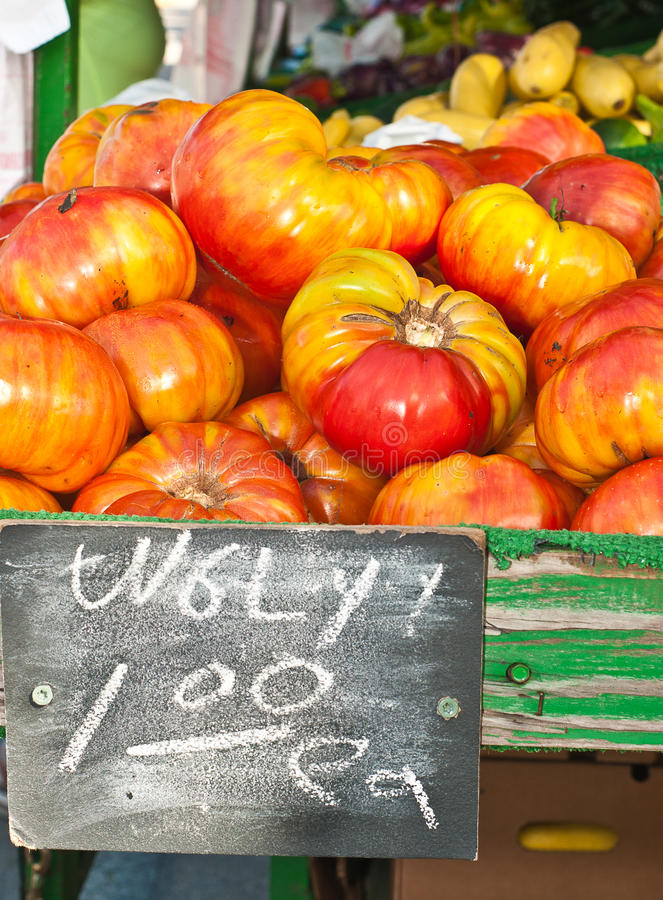 丑恶的蕃茄 免版税库存照片