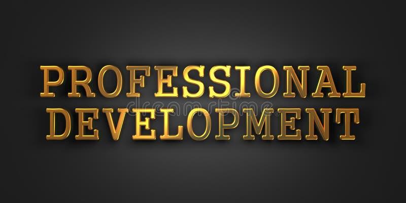 专业发展。企业概念。 免版税库存图片