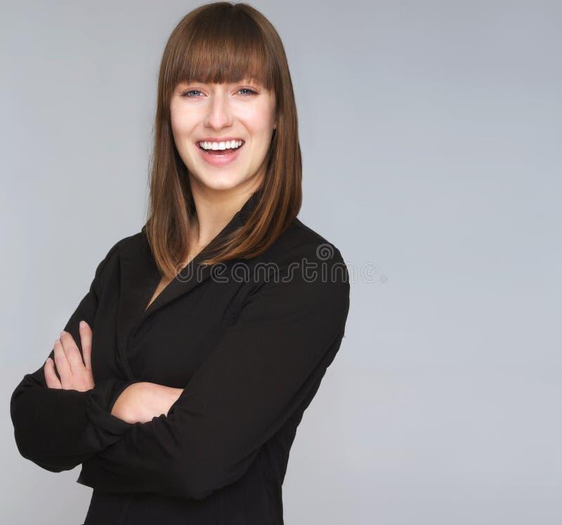专业女商人 免版税库存照片