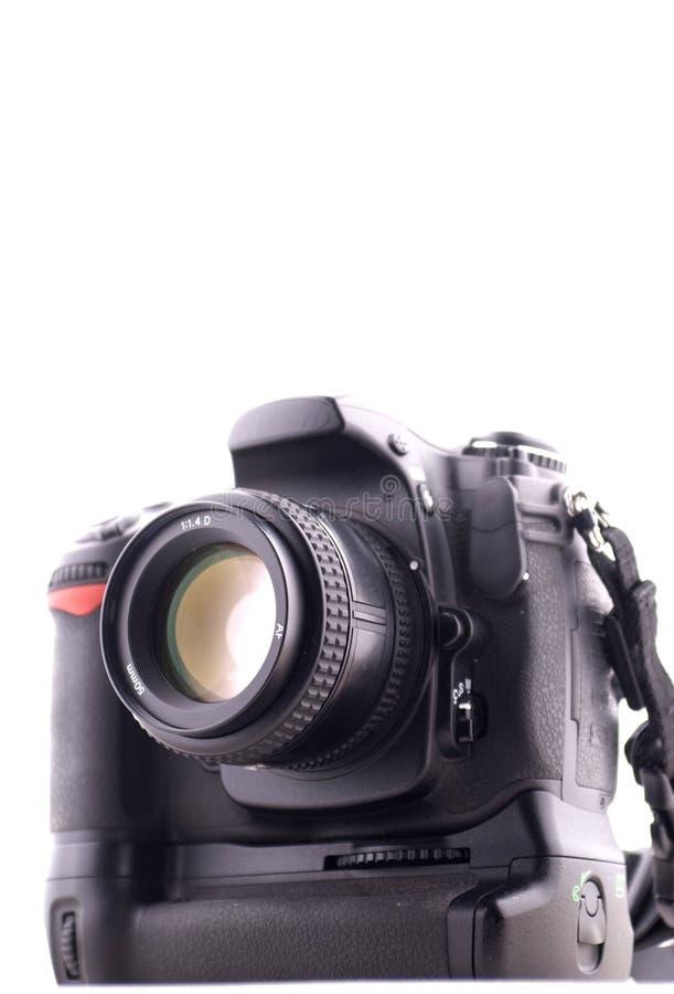 专业数字照相机 免版税库存照片