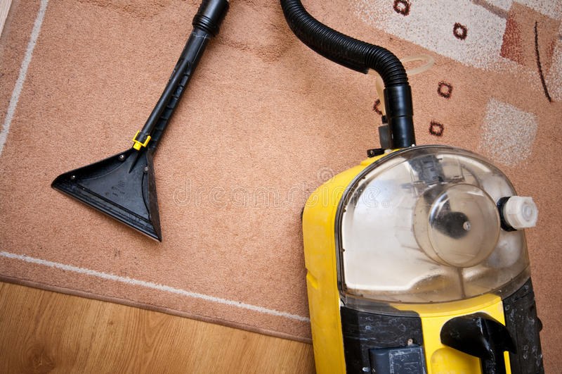 专业清洁工具 库存照片